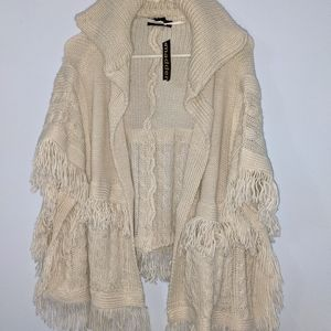 Madden poncho sweater